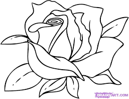 How To Draw A Cartoon Rose Step By Flowers Pop Culture