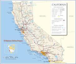 California Map Simple