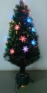 SNOWFLAKE TREE Plain Fiber Optic