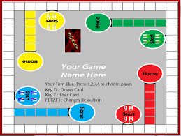 Sorry Board Game Template Printable