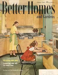 1955 Kitchen Love The Pull Out Desk Prep Spot