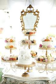 Cake Stands Wedding Opulent Treasures Chandelier Stunning Combination Of The Loopy Ball