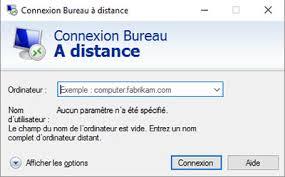 bureau a distance windows server ou windows connexion bureau à distance cbouba