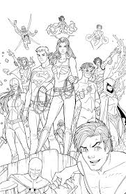 Download Coloring Pages Teen Titans Color Free Of
