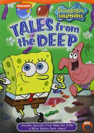 Spongebob Squarepants Halloween Dvd Episodes by Amazon Com Spongebob Squarepants Tales From The Deep Tom Kenny