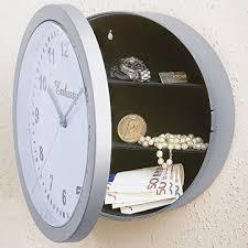 moderne grau runde wanduhr safe kunststoff wohnzimmer kleine