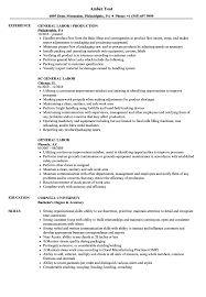 General Labor Resume Samples | Velvet Jobs Generic Resume Objective The On A 11 For Examples Good Beautiful General Job Objective Resume Sazakmouldingsco Archives Psybeecom Valid And Writing Tips Inspirational Example General Of Fresh 51 Best Statement Free Banking Bsc Agriculture Sample 98 For Labor Objectives No Specific Job Photography How To