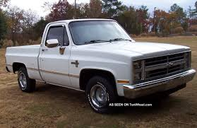 1981 To 1987 Chevy Fleetside Pickup Truck Square Body Style ... Car Brochures 1987 Chevrolet And Gmc Truck K1001 The Toy Shed Trucks Sierra Connors Motorcar Company Wrangler 12 Tonne For Sale Hemmings Motor News Fast Lane Classic Cars All Of 7387 Chevy Special Edition Pickup Part I 1500 Short Wide Step Side Real Gmc Best Image Gallery 16 Share Download Id 24449 K1006