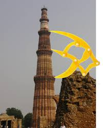 Penrose Tiling Golden Ratio by Delhi India Each Section In The Qutab Minar Built In 1193 Seems