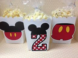 Mickey Mouse Bathroom Set Uk by Mickey Mouse Party Popcorn Or Favor Boxes Set Of 10