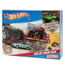Amazon.com: Hot Wheels Monster Jam Car Lot Crash Pack Grave Digger ... Monster Truck Monster Trucks Crash Videos For Children Youtube Best Of Truck Grave Digger Jumps Crashes Accident Dont Miss Jam Triple Threat 2017 Pax East 2016 The Overwatch Monster Truck Got Into A Car 100 Lil Down On Farm Fox2nowcom Famous After Failed Backflip Craziest Collection Of And Tractor Backflips Chemical Reaction Mud Hard At Mega Jam Crush It Mode Pack On Ps4 Official