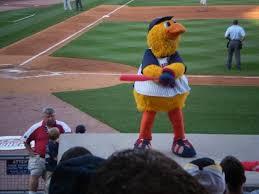 Toledo Mud Hens Baseball Muddy The Mascot