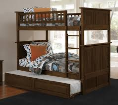 Attractive Bunk Bed with Trundle