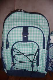 NWT Pottery Barn Teen Kids GEAR-UP Gingham Pool BACKPACK ... Colton School Bpacks Pbteen Youtube Pottery Barn Teen Northfield Navy Dot Rolling Carryon Spinner Gear Up Guys How To Avoid A Heavy Bpack For Boys Back To Checklist The Sunny Side Blog And Accsories For Girls Pb Zio Ziegler Blue Black Snake Brand Bpack Photos School Stylish Bpacks Decor Pbteen Catalog Pbteens 57917 New Nwt