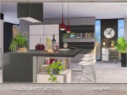 Ung999s Black White Kitchen