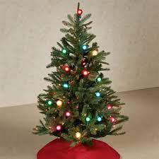 Prelit Christmas Tree Green 4 High
