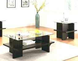 3 Piece Coffee Table Sets Under 200 Glass Kitchen Alluring Good Looking