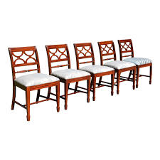 Vintage Set Of 5 Federal Style Bernhardt Furniture Mahogany Dining Chairs Jet Set Ding Room Items Bernhardt Santa Bbara Includes Table And 4 Side Chairs By At Morris Home 78 Off Embassy Row Cherry Carved Wood Haven Chair Each 80 Gray Deco All Montebella 9 Piece Baers Design Couch Sale Interiors Keeley Of 2