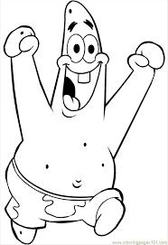 Coloring Pages Spongebob Patrick 01 Cartoons SpongeBob
