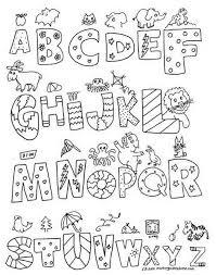 Alphabet Coloring Pages Az Cool Coloring Alphabet Coloring Pages