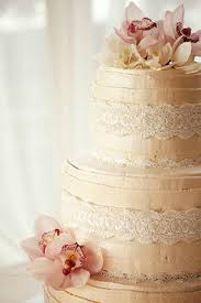Beautiful Cake With Orchids