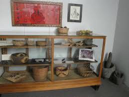 Baker Heritage Museum Display Case Of Native American Artifacts