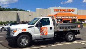 Images Home Depot Pickup Truck Home Depot Truck For Rent Outside A ...
