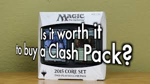 mtg is it worth it to buy a clash pack is it as good as an