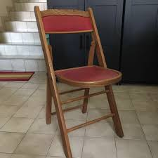 Vintage Wooden Red Leather Chair Rd9582 2 Vintage Samson Folding Chairs Shwayder Bros Samso Amazoncom Wooden Chair Modern Ding Natural Solid Leather Home Design Set Of Twenty Four Bamboo Red Home Lifes French Directors In Beech 1960s Antique Armchair With Shadows Stock Photo Luggage On Edit Folding Chair Restorno Chairsantique Arm Chairsoccasional Pair Armchairs In Wood And Brown Galerie