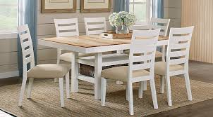 Farmington Hills White 5 Pc Rectangle Dining Room