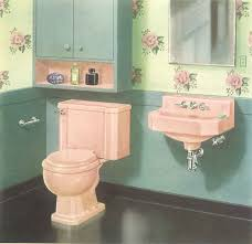 Burgundy Coloured Bathroom Accessories by The Color Pink In Bathroom Sinks Tubs And Toilets From 1927