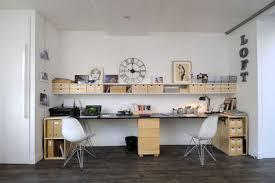 bureau 2 personnes comment organiser un bureau meuble pour deux personnes