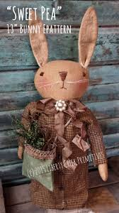 Primitive Easter Tree Decorations by 1164 Best Bunnies Images On Pinterest Easter Crafts Felt Crafts