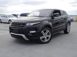 land rover evoque interieur used land rover range rover evoque for sale pre owned land rover