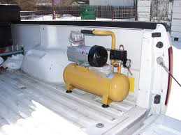 12-volt Air Compressor   Truck Accessories   Pinterest Emax Premium Series 30 Gal 13 Hp V4 Truck Mount Stationary Gas Air Compressor For Trucks With Cummins Nhc 250 Diesel Engine Used Puma At Texas Center Serving In Bed Best Resource Mini Parts Market March 2011 Photo Image Gallery Wabco Semi Big Machine Lp 12 Honda Gx390 Gallon On Board Compressor Mounted To Truck Frame 94 Gmc Pinterest Using An In A Vehicle Gast Double Head Air 120 240 Volt 1770 Sold For Sale Dealer 954