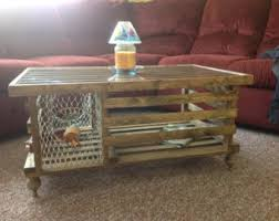 Decorative Lobster Traps Large by Lobster Trap Table Etsy