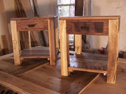 Handmade Rustic End Tables
