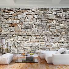 details zu stein vlies fototapete tapeten wanddeko wohnzimmer 3motiv modern deko ziegel