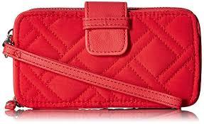 Vera Bradley Rfid Smartphone Wristlet Canyon Sunset Handbags