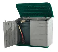 Rubbermaid Garden Sheds Home Depot by Storage Bins Rubbermaid Garden Storage Box Yard Outdoor