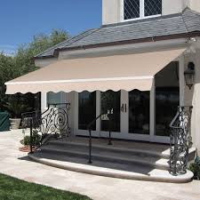8.2'x6.5' Beige Retractable Patio Balcony Deck Awning Cover Sun ... Sunrooms Sunsational 82x65 Beige Retractable Patio Balcony Deck Awning Cover Sun Claroo Traditional Replacement Hayneedle Shade Solutions Gold Coast Awnings And Shades Pics Aluma Projects To Try Pinterest Screened Room Fall Special Lockwood 885 Awning Window Lock White 885c4whdp Secure Strong Awntech 10 Ft Nantucket Windowentry 56 In H X 48 D Full Size Of With Grey Color Exterior Panel Also Amazoncom Blue 6 Foot 4ft A Box Burgundy