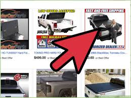 100 Tonneau Covers For Trucks How To Buy A Cover For Your Truck 9 Steps With Pictures