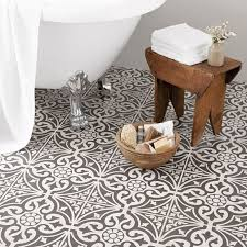 patterned ceramic floor tile creative home decoration