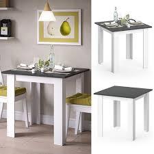 vicco esstisch karlos esszimmertisch 80cm weiß anthrazit wohnzimmer küchentisch