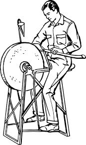 Grind Grinding Grindstone Scouting Sharpen