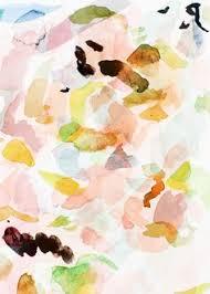 No 9 PHOTO SYNTHESIS O Satsuki Shibuya Watercolor PatternWatercolor PrintColor