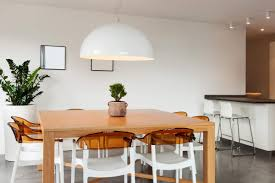 A More Flowery Home May Opt For Cream But These Chairs Are Bright Urban White The Cylindrical Spindles Embody Experimental Nature Of Minimalism