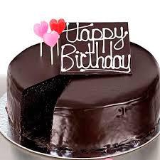 Happy Birthday Chocolate Cake