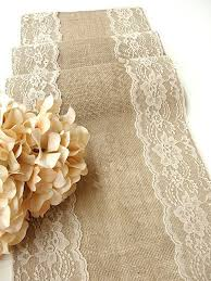 Burlap Table Runner Country Wedding Custom Made Rustic Decor Linens Handmade In The USA