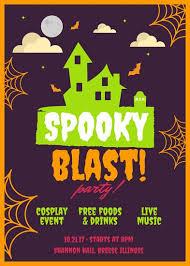 Free Halloween Flyer Templates by Halloween Flyer Templates Canva